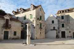 Kamenné domy v Kaštele