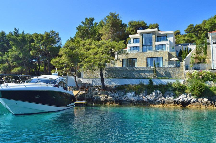 Chorvatsko: Vila na ostrově Brač